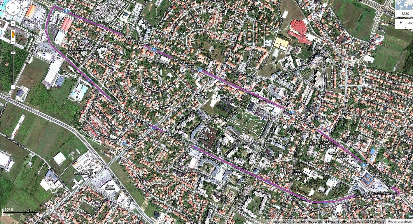 bicilklisti-karta - satellite