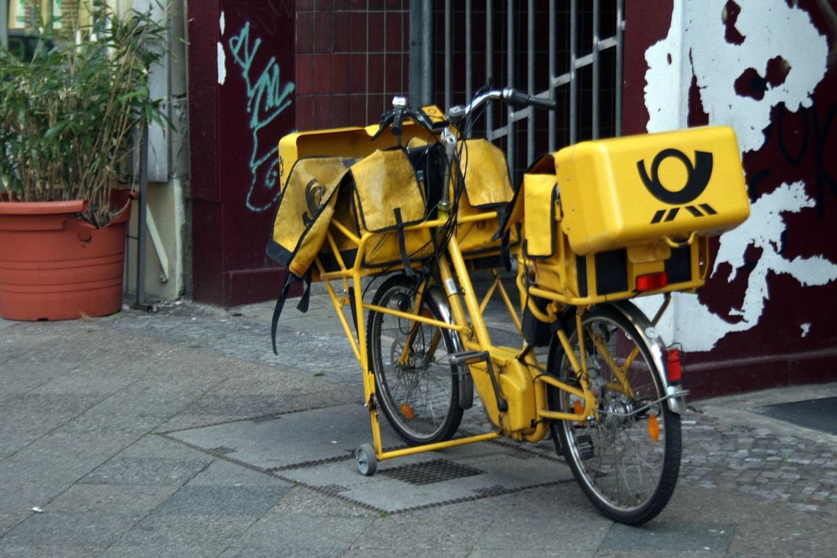 bicikl pošta
