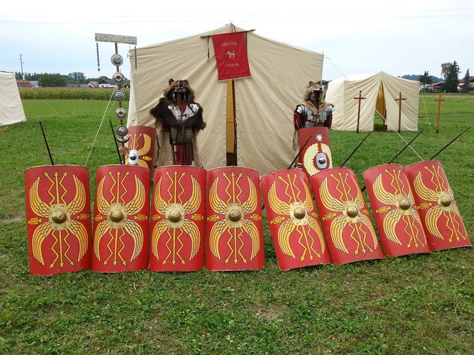 rimska vojna oprema