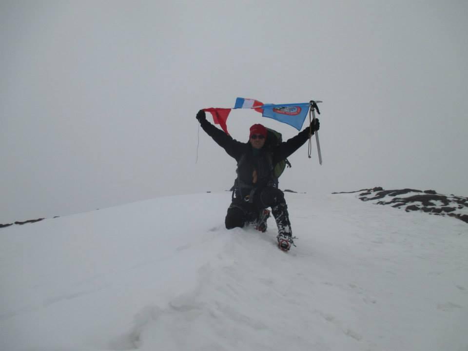 afrika snijeg vrh planine Matej Perkov
