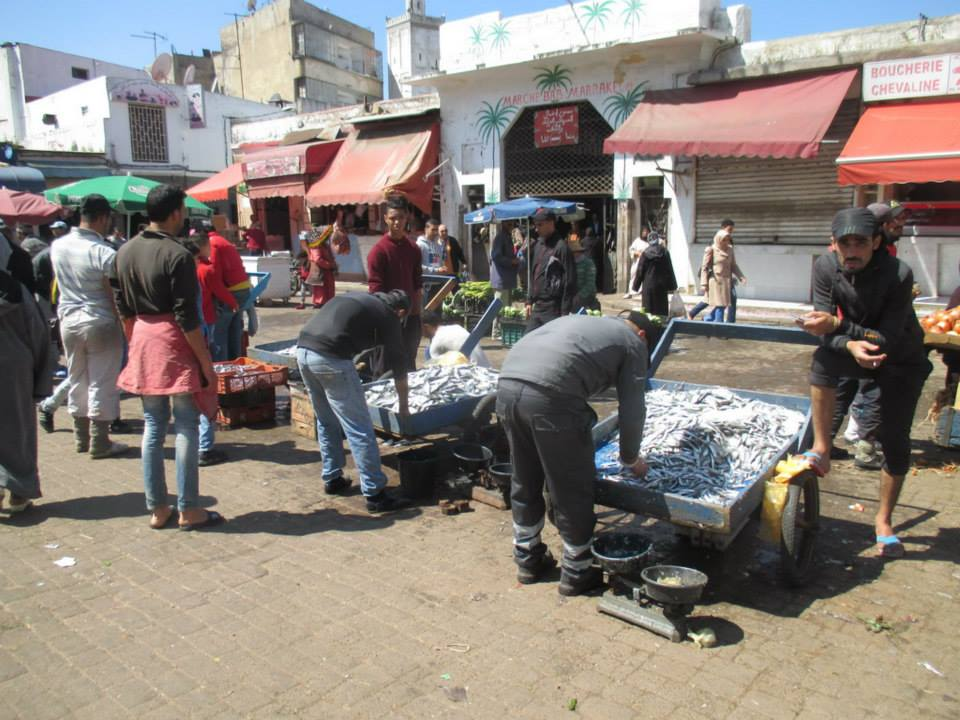 afrika tržnica Matej Perkov