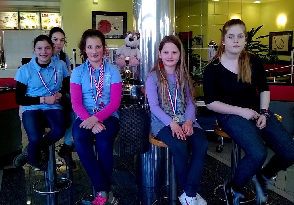 šah učenice nakon pobjede