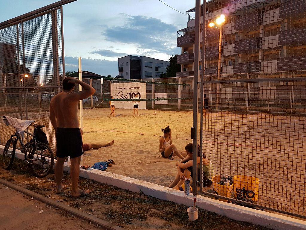 Odbojka na pijesku, teren (3)