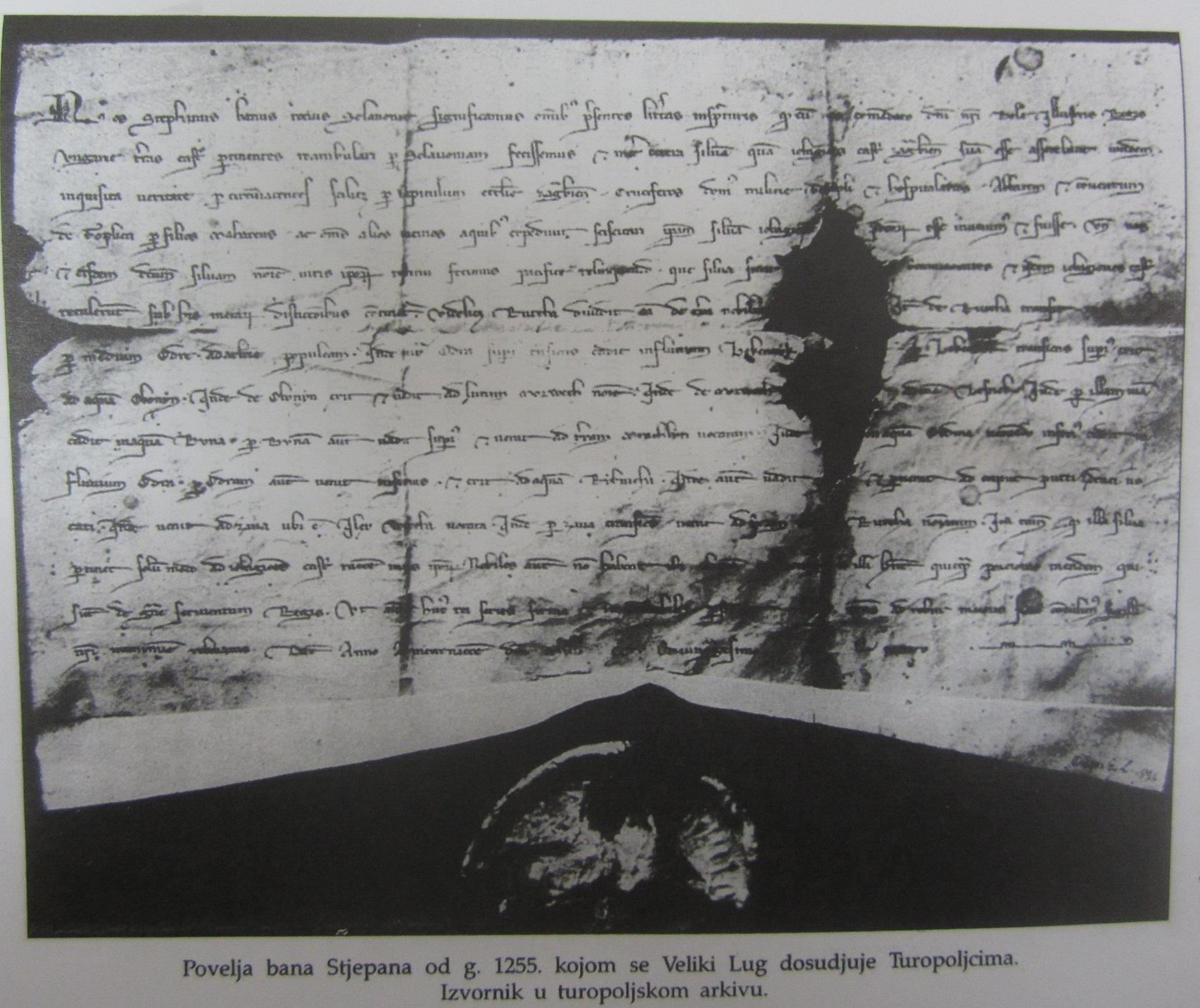 Povelja bana Stjelana (1255.)