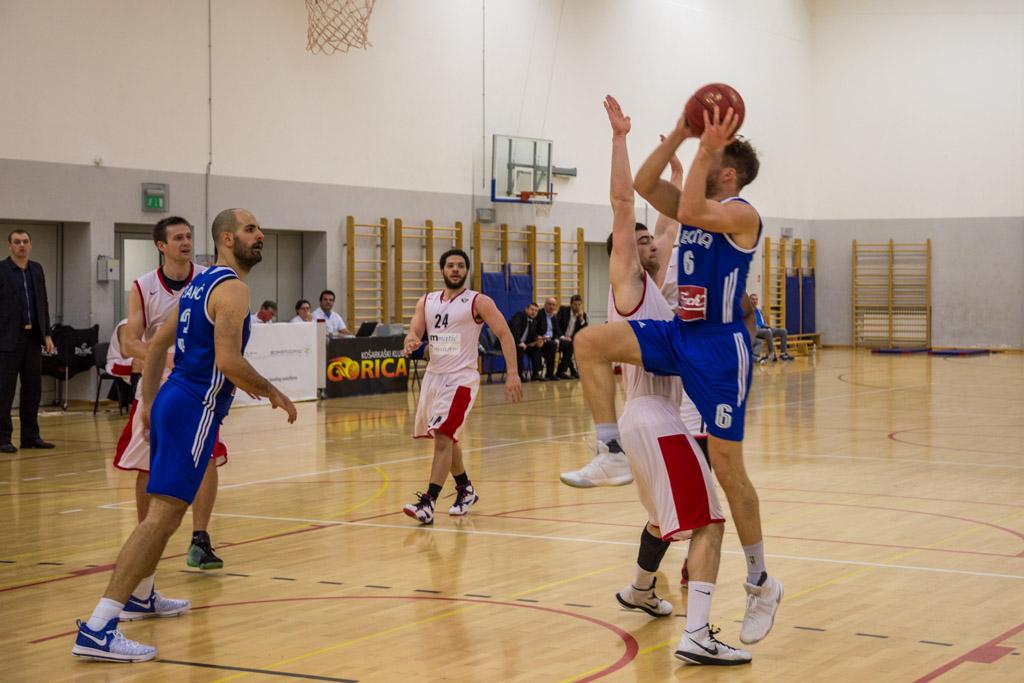 Košarka Gorica - Cibona (4)
