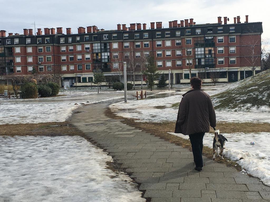 Park Franje Tuđmana - otopljeni snijeg, poplava (8)