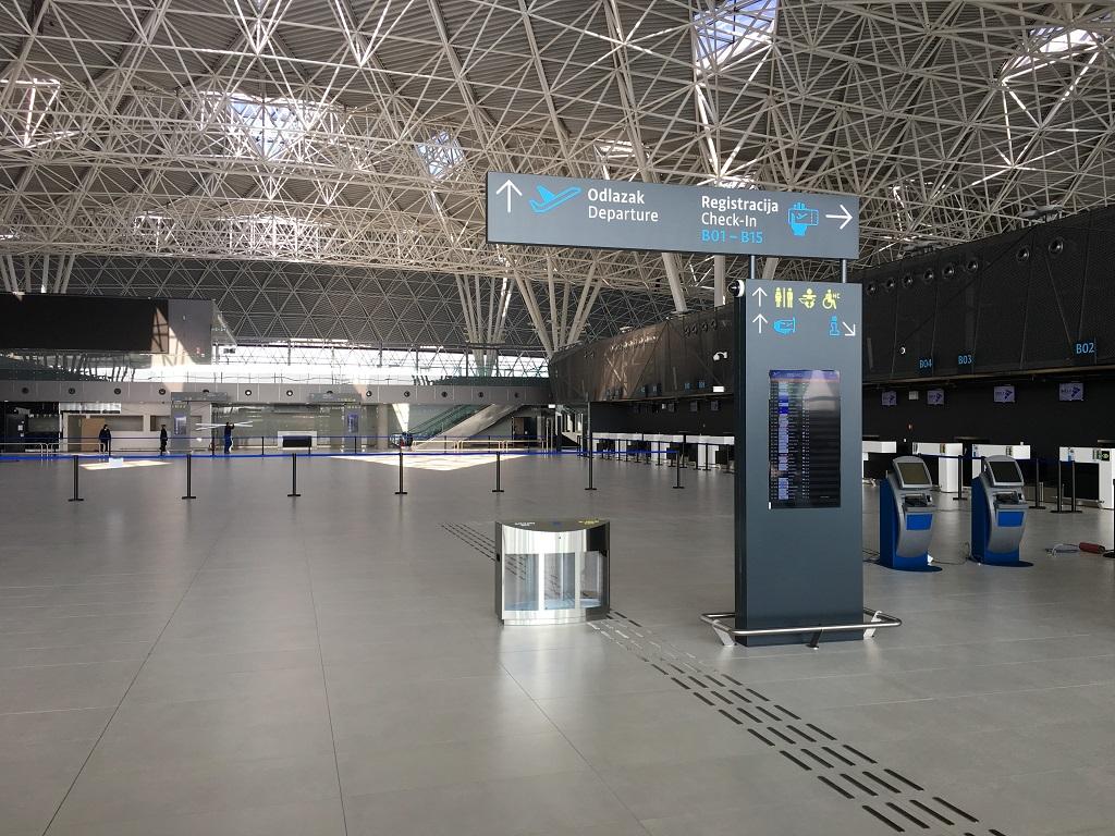 Foto Ovako Izgleda Unutrasnjost Novog Terminala Zracne Luke Franjo Tuđman Velika Gorica Online